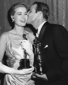 With Grace Kelly