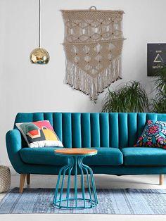 Decora tu casa de #cine: estética Wes Anderson #sofá