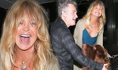 Goldie Hawn and Kurt Russell make a very big new puppy pal