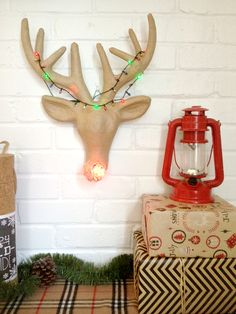 DIY Rudolph Rudolph the Red Nosed Reindeer