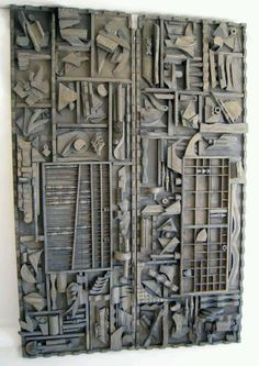 """colin-vian: """" LOUISE NEVELSON (1899 - 1988). """""""