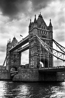Tower Bridge, Bridge, River, London