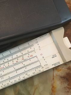 British Thornton Ad050 Log-log Slide Rule, Boxed, Good Condition British Thornton AD050 Log-Log Slide Rule, Boxed, Good Condition. In original slip case. Please study all pictures for your own impressions? We will always combine postage but please contact me first for a quote. I ship via Royal Mail, DHL,USP, post-priority service that takes 1 week within European countries and 1-2 weeks to the other countries.. Proof of postage & tracking number always will be provided.