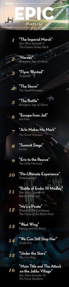 Epic Playlist: A Collection of Soaring Songs Fit For a Pilot | Disney Insider | Articles