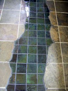 Temperature Sensitive Glass Tiles from Moving Color.