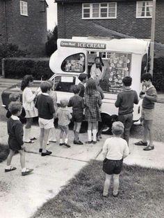 The ice cream van, this takes me back...