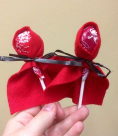 Little Red Riding Hood party favors! Adorable and super cheap!