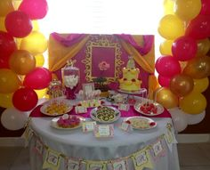 """Photo 1 of 31: Beauty and the Beast / Birthday """"Enchanted Beauty and The Beast Party """"   Catch My Party"""
