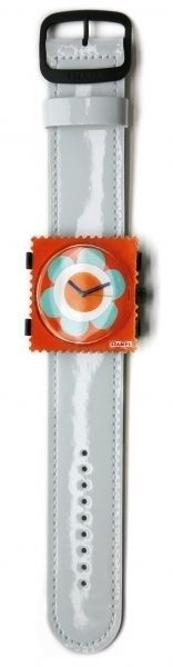 Glossy White  Band for  S.T.A.M.P.S. Wristwatch #STAMPS #Fashion