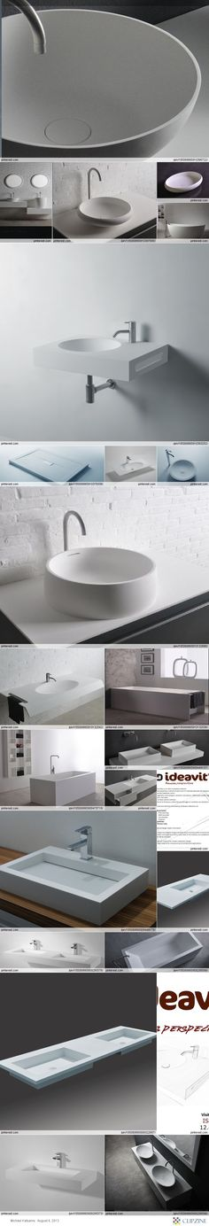 solid surface products by ideavit  www.ideavit.com