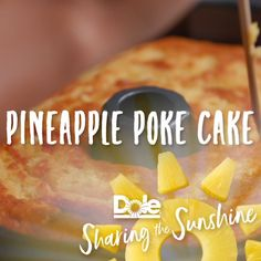 Looking for an easy and quick dessert? Try our Pineapple Poke Cake!