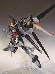HG 1/144 Strike T Noir - Custom Build Modeled by Hobby no Toriko