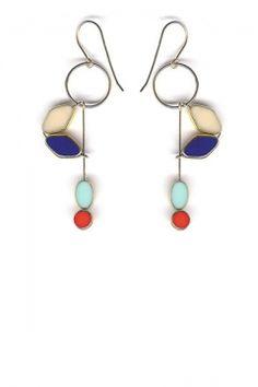 aretes - earrings - pantallas
