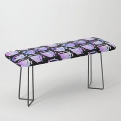Coffee Cups Bench by beebeedeigner Types Of Furniture, Furniture Design, Interior Decorating, Interior Design, Contemporary Decor, Vanity Bench, Coffee Cups, Decor Ideas, Decoration