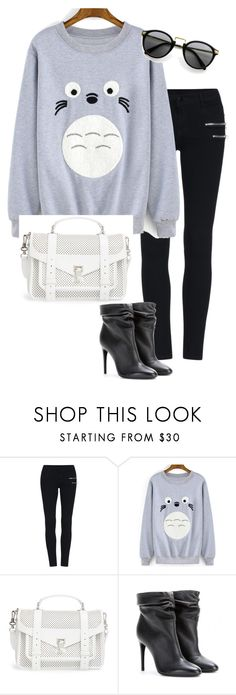"""""""Untitled #569"""" by indirareeves on Polyvore featuring Proenza Schouler and Burberry"""