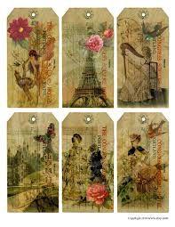 Resultado de imagen para laminas vintage decoupage
