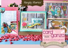 Gorgeous Mother's Day cards created by Jennifer Hottinger Sloan using our Vitnage Bliss collection - Canadian Scrapbooker Backstage Pass by Jackie Ludlage