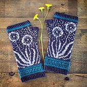 Magpie Fibers is offering kits in a variety of beautiful colors here: Wishmaker Mitts Kit