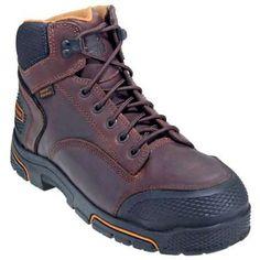 LaCrosse Boots: Men's Brown 460020 Adamas 6 Inch Waterproof EH Work Boots