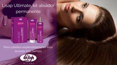 Lisap Ultimate, kit para alisado permanente y cero encrespamiento con Kerasil Complex #lisap #keratina #haircare #alisado #hairbeauty #silkhair
