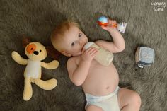 Bears for Humanity, Pebble Knit Toys, Nogginstik baby rattle, cute baby - Mommy Scene