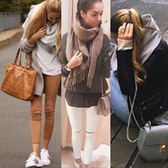 Der Blogger Style zum nachkaufen! Blogger Style, White Jeans, Pants, Outfits, Fashion, Clothes, Moda, Trousers, Suits