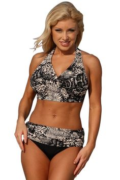 c58765195d Amazon.com  Ujena Safari Curves Minimizer Bikini Bottom Only  Clothing
