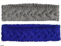 A faire! bandeau laine patron gratuit
