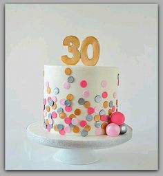 Awesome Picture of 30 Birthday Cake . 30 Birthday Cake Polka Dot Birthday Ca. Awesome Picture of 30 Birthday Cake . 40th Birthday Cakes, Birthday Cakes For Women, 30 Birthday, Fondant Birthday Cakes, Birthday Ideas, Woman Birthday Cakes, Female Birthday Cakes, Birthday Decorations, 30th Birthday Party For Her