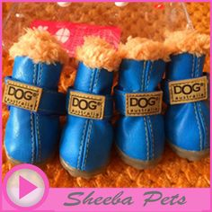 Waterproof Dog's Anti Slip Booties - XS to XL     Tag a friend who would love this!     FREE Shipping Worldwide     Get it here ---> http://sheebapets.com/pet-product-super-warm-dog-winter-shoes-woman-fall-4pcsset-dogs-boot-anti-slip-xs-xl-for-pet-dog-waterproof-chihuahua-girl-cat/