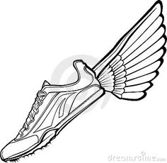 wing logo mascot branding and logos pinterest wings logo and logos rh pinterest com shoe with wings logo answer is called shoe with wings logo answer is called