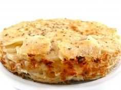 Outrageously Delicious, Skinny Au Gratin Potatoes! It's pretty much the richest low fat or regular potato dish I've ever tasted. So great to serve with turkey, chicken, beef or pork. I love it with meatloaf too! Each serving, 177 calories, 2 grams of fat and 4 Weight Watchers POINTS PLUS. http://www.skinnykitchen.com/recipes/outrageously-delicious-skinny-au-gratin-potatoes/