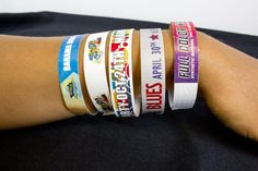Are you looking for a unique promotional gift? custom event wristbands is the best option for that. Custom wristbands are used for many purposes ranging from unique identification to sportsmanship to awareness programs. As these need to be customized as per your requirement. Get in touch with us to degin you gift bands.  #customeventwristbands
