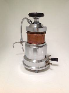 Vintage electric espresso maker, 'Universal' production started in Milan, Italy about 1920 to quit after 20 years due to wartime, this machi...