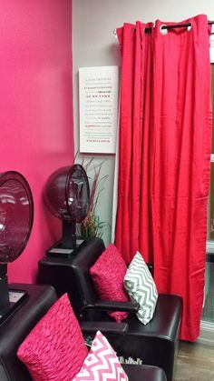 Grand opening of my salon was a success!