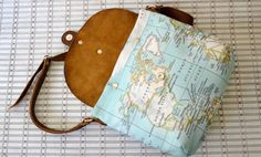 Leather Messenger Bag Gift For Women Gift by BarbaLeatherStudio