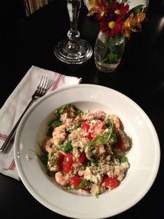 Scampi-ed Shrimp and Quinoa Salad: A Broad Cooking