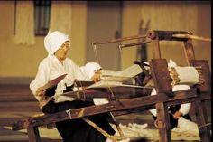 Japanese Weaving Techniques ... descriptions for Kasuri, Saga Nishiki, Saori, Yuki-Tsumugi, Sakiori