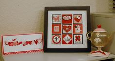 love the stamped framed art piece.  NEED to make one soon!