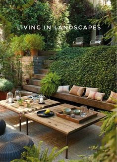 From Indoor to Outdoor: Living In Landscapes
