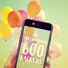 Celebrating 600 Backers!  Thanks to amazing persons like you we have reached 600 backers!  The first week has been an amazing ride thanks to you! Every day exciting new products are launched on Kickstarter. Help us keep CamTag at the top of the list by spreading the word  Let's unlock the third stretch goal and add 5 new designs! When the time comes I will create a poll where you can pick your 5 new favourites.  #kickstarter #nowonkickstarter #liveonkickstarter #camtag #privacysticker… Create A Poll, One Week, Exciting News, The One, Like You, Third, Goal, Product Launch, Thankful