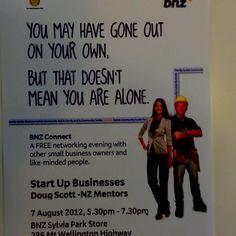 BNZ Networking Evening @SylviaParkMall #Free Has Gone, Start Up Business, News, Free