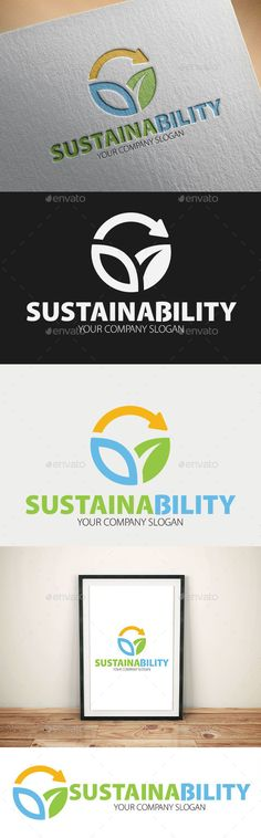 Sustainability Logo Templates