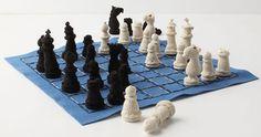 Handmade Crochet Chess Set   Inhabitots