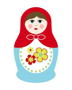 Matryoshka Doll 1 Art Print
