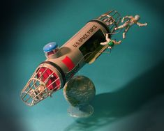 Vintage Science Fiction Model Kit: Space Taxi