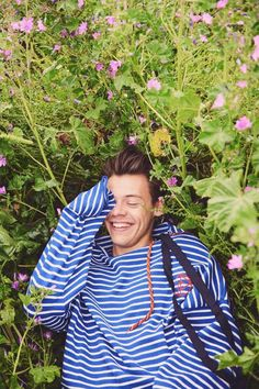 Harry Styles captured by the lens of Ryan McGinley for one of the three Fall/Winter 2016 coverstories of AnOther Man magazine.