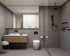 Small Bathroom Ideas to Make Your Black Bathroom Feel Bigger Bathroom Renos, Laundry In Bathroom, Bathroom Renovations, Small Bathroom, Black Bathrooms, Bathrooms Decor, Bathroom Basin, Bathroom Ideas, Simple Bathroom Designs