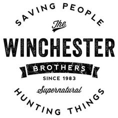 Winchester Brothers, Winchester Boys, Nerd Geek, Bumper Stickers, Laptop Stickers, Enough Is Enough, Adhesive Vinyl, Vinyl Decals, Car Decal