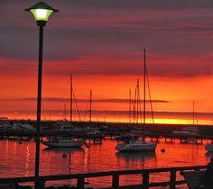 Sunset in Punta del Este - Uruguay / Atardecer en Punta del Este - Uruguay